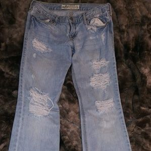 Hollister Jeans (1R) Low Waist Boot Cut